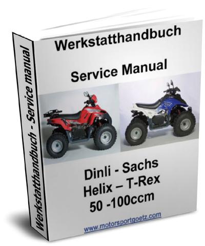 repair manual workshop manual dinli t rex helix 50. Black Bedroom Furniture Sets. Home Design Ideas