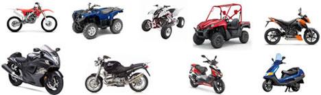 Motorrad Quad ATV Zubehör nach Modellen sortiert