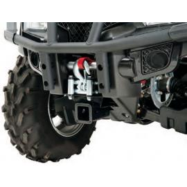 Receiver hitch ATV front