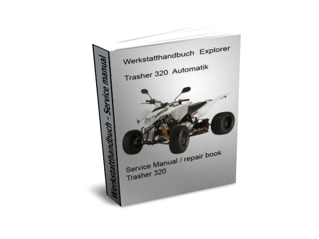 werkstatthandbuch reparaturanleitung explorer trasher 320. Black Bedroom Furniture Sets. Home Design Ideas