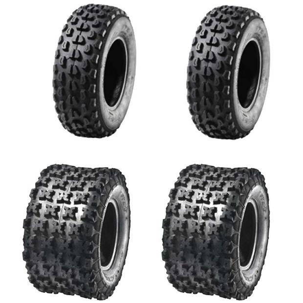 Tyre 22x7-10 / 22x10-10 Quad ATV tire set for winter and...