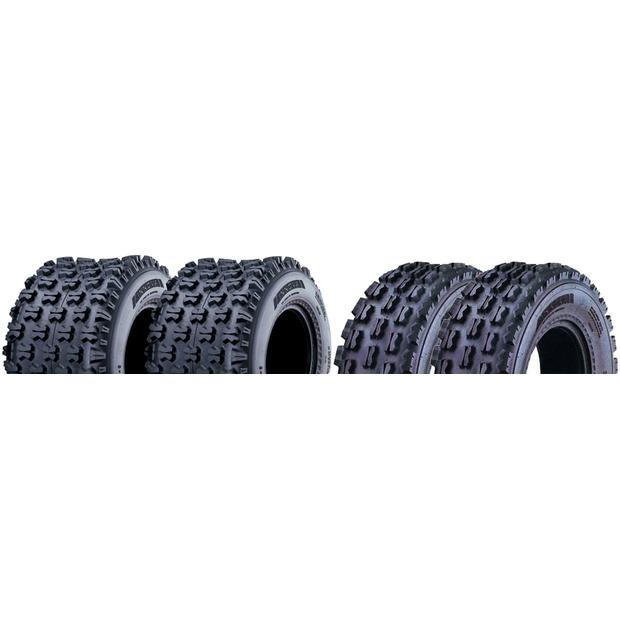 Tyre 22x7-10 / 20x11-9 Suzuki LTZ 400 winter tire set