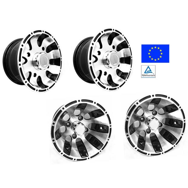 Alloy wheel Dinli DL801 with e-homologation