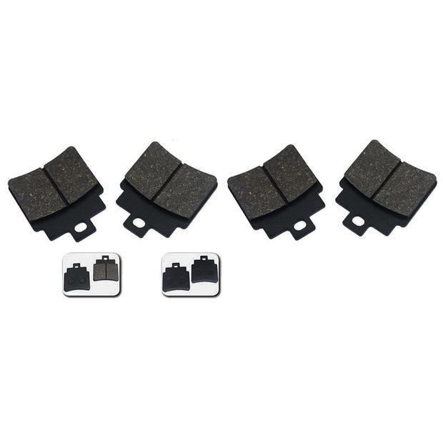 Brake pads compatible for Kymco MXU 250 rear