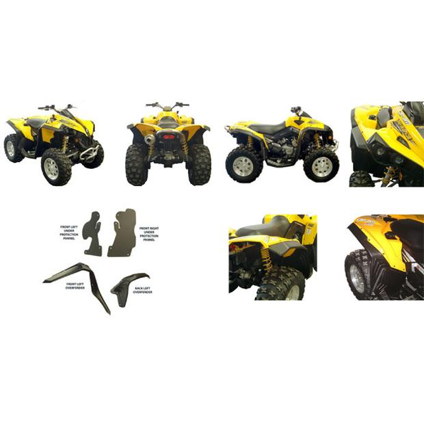 Can Am BRP Renegade 500/800/1000 Overfender Set Fender...