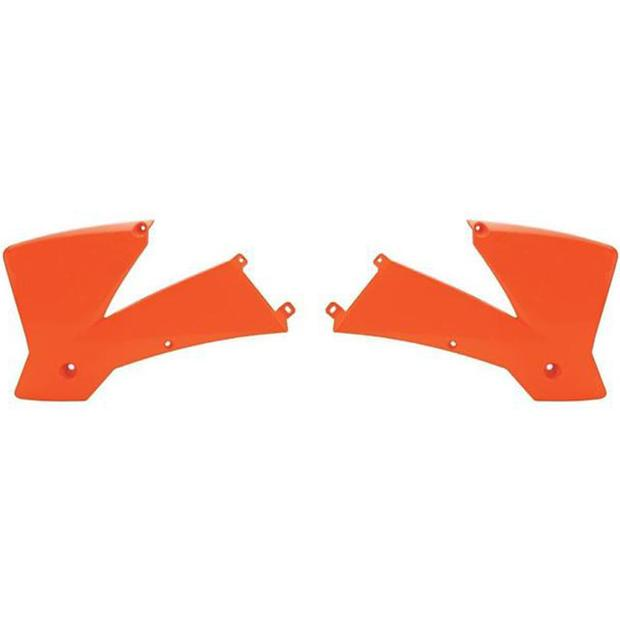 Radiator Scoops KTM orange all SX 125 (04-07) SX 200 -...