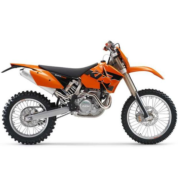 Replika Plastik Kit KTM 125/525 SX (01-02) EXC (03) orange
