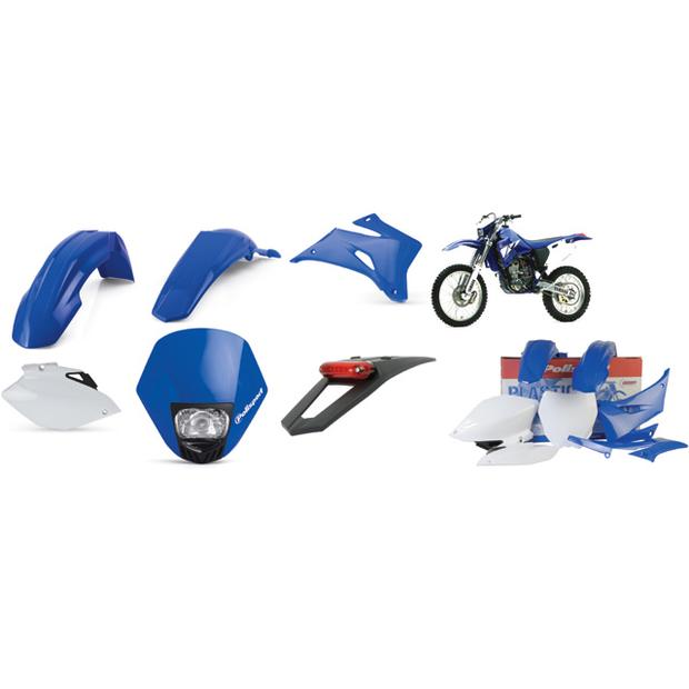 Replica Plastic Kit completly blue Yamaha WR250/450 from...