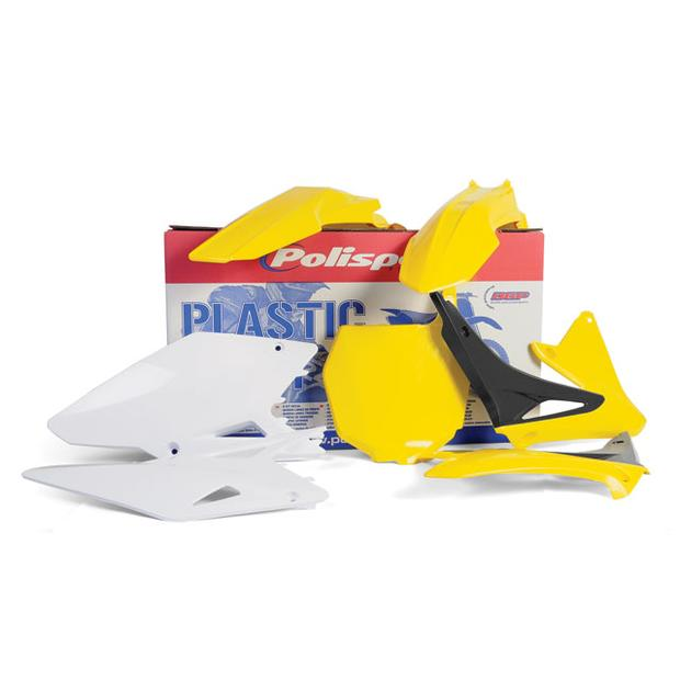 Replika Plastik Kit Suzuki RMZ 450 from 2008 yellow