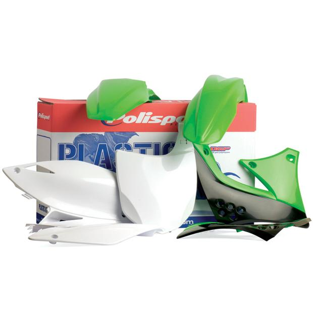Replika Plastik Kit Kawasaki KXF 450F (2009-2010) green