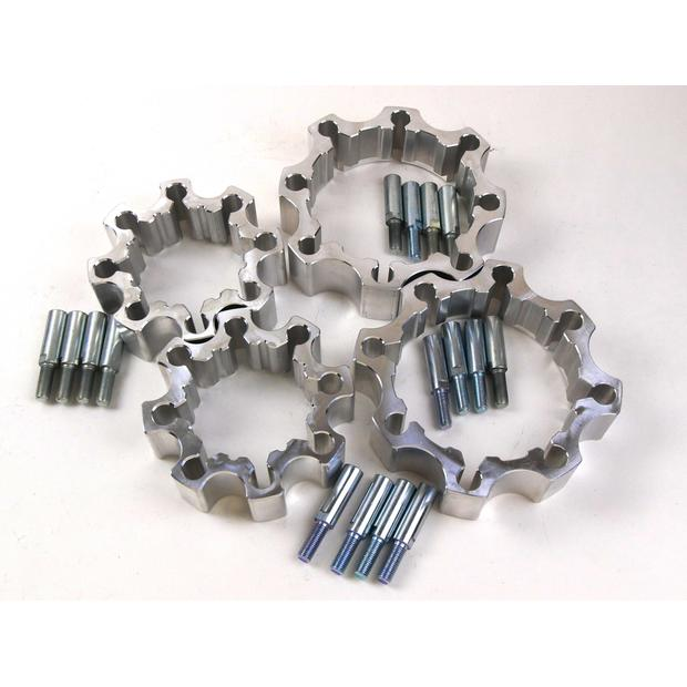 Wheel spacer set Can Am / Bombardier DS 650 complete...