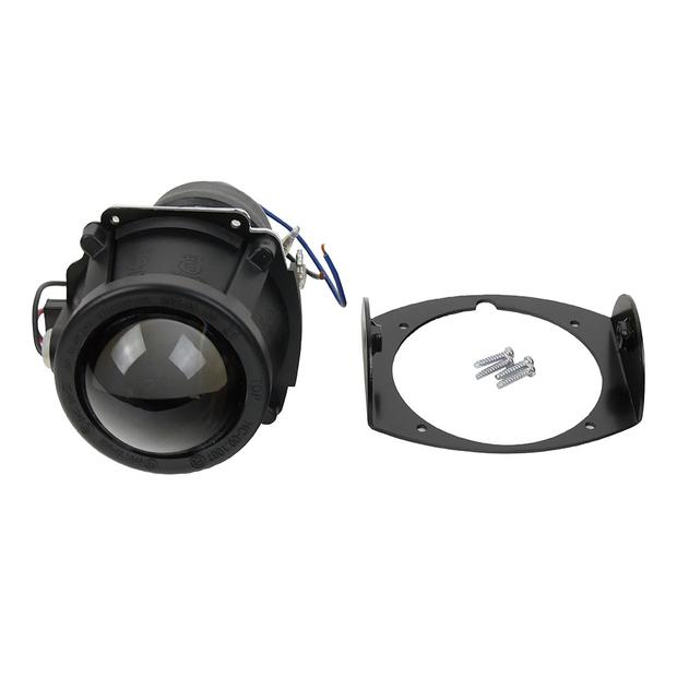 Headlamp ellipsoid H3 12V 55W high beam with E-mark