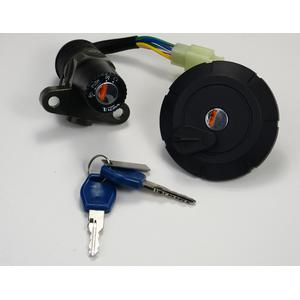 Ignition switch set with fuel cap with lock for Yamaha XT...