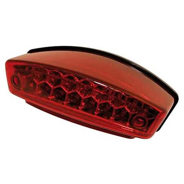 Taillight Monster motorcycle red lens