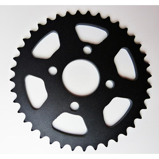 Rear sprocket teeth 40 Shineray 250 STXE for higher top...