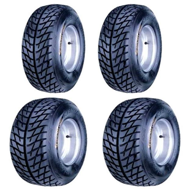 21x7-10 /& 20x10-9 ATV TIRE SET Kawasaki KFX400 450R Suzuki LTZ400 All 4 Tires
