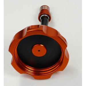 Aluminum Fuel Tank Cap with Vent Valve Orange for Yamaha...