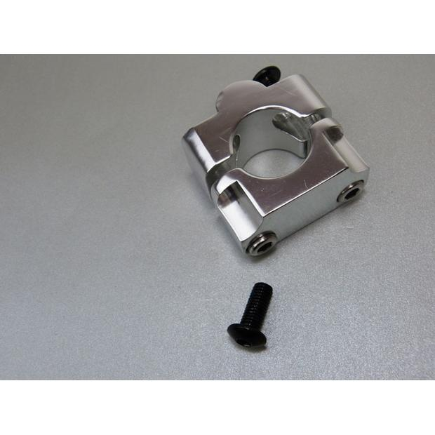 2x Handlebar support conversion clamp 22mm to 28,6mm Quad...