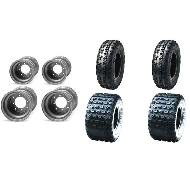 Wheel set Adly Hurricane 500 S dirt and winter tyre