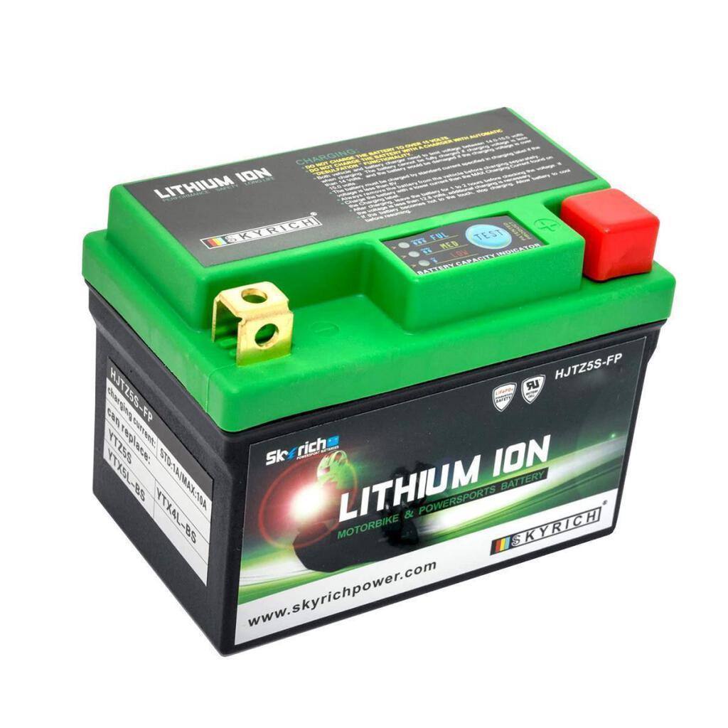 batterie lithium ionen ytx4l bs ytx5l bs litx5l quad. Black Bedroom Furniture Sets. Home Design Ideas
