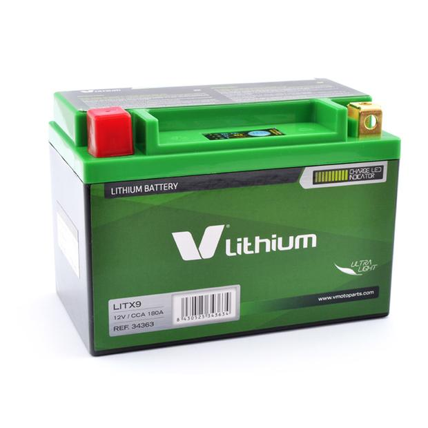Battery Lithium Ion YTX9-BS / LITX9 KTM EXC 620 LC4 Super...