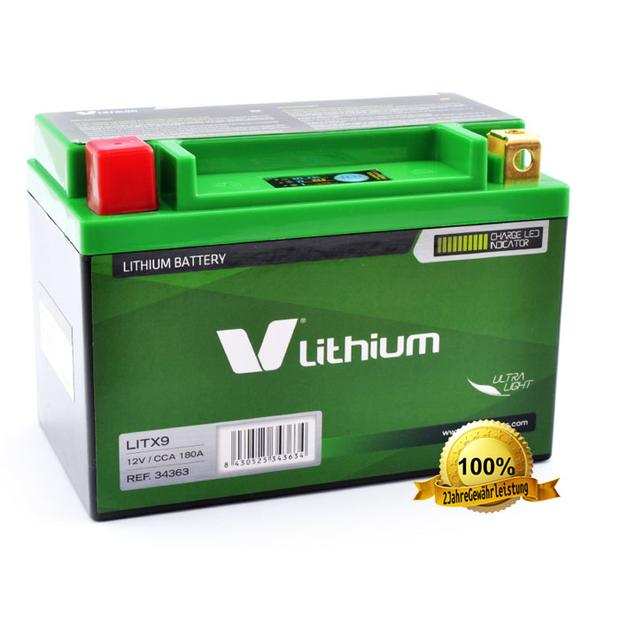 YTX9-BS Lithium Ion Batterie - Lithium Ionen...