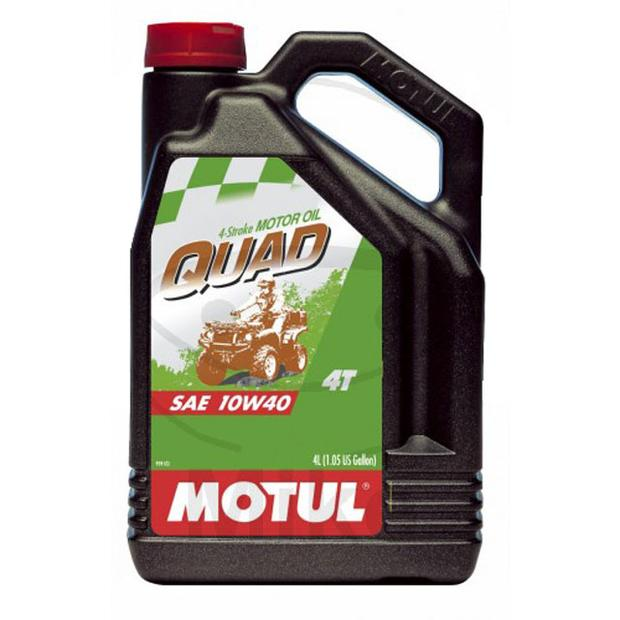 Motor Oil Motul Quad ATV UTV 10W-40 Synthetic Oil 4 liters
