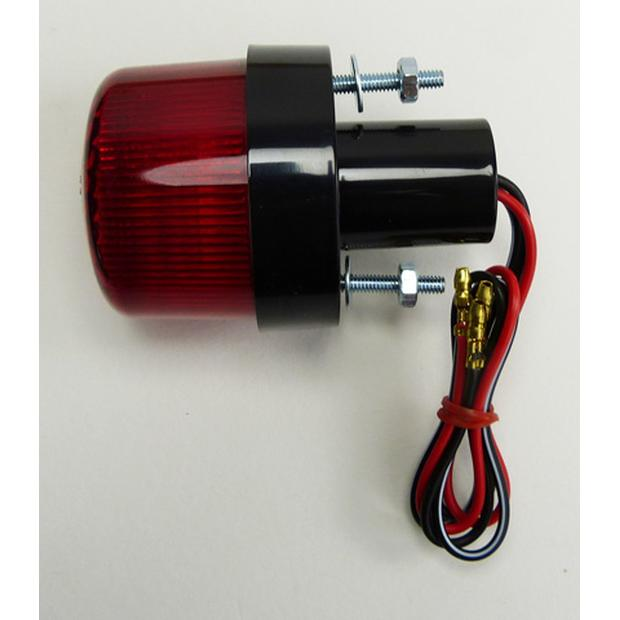 Double tail light universal round