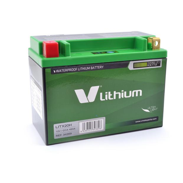 Lithium Ion Batterie YTX20-BS Yamaha Grizzly YFM 450 /...