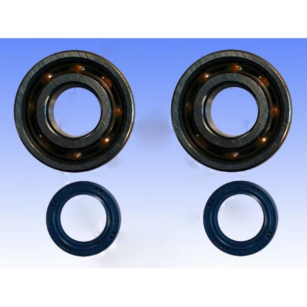 Crankshaft bearing kit reinforced for Peugeot scooter models