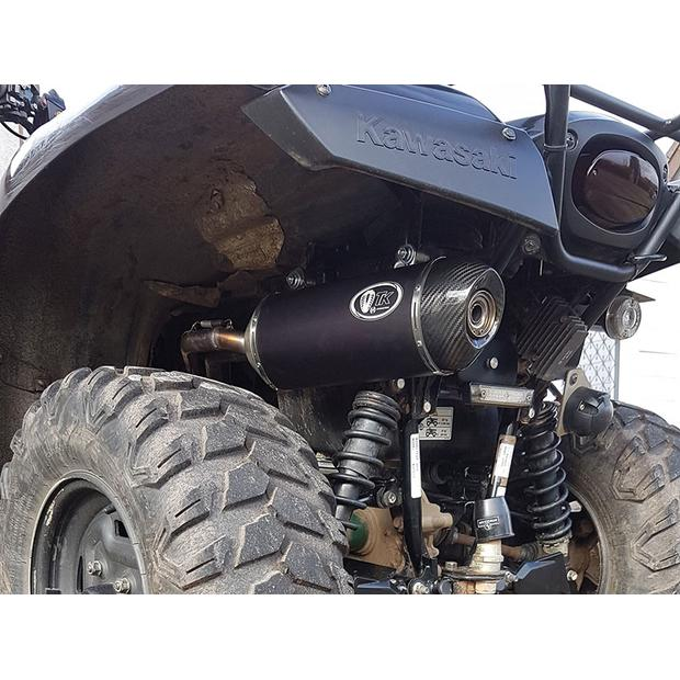 Exhaust Kawasaki KVF 750 Brute Force with e-mark carbon...