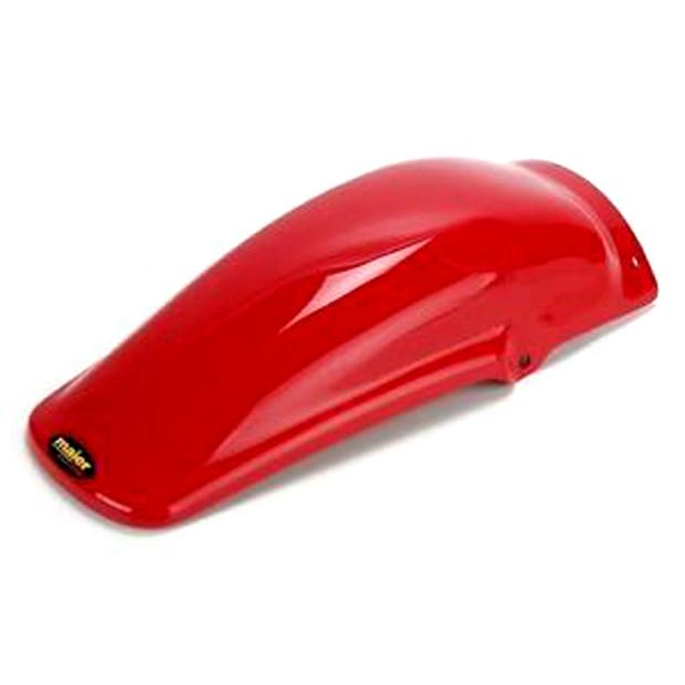 Honda XR250L XR250R XR350R XR600R XR650L rear fender red