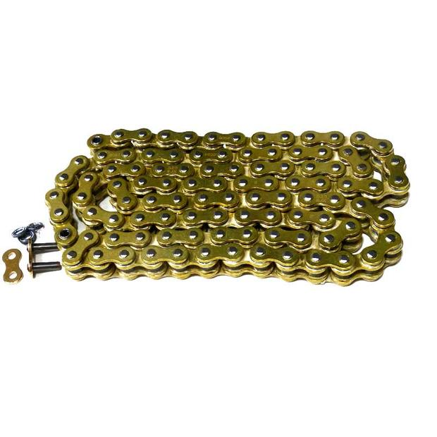chain 530 x 106 X-ring gold quad atv motorcycle