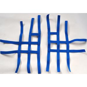 Nerf bar net universal for Suzuki LTZ 400 blue 3+2