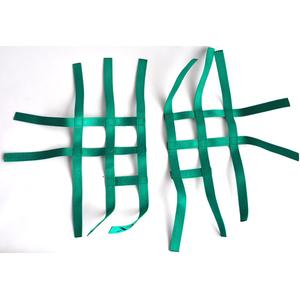 Nerf bar net universal for Suzuki LTZ 400 green 3+2