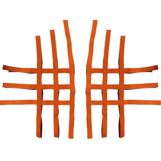 Nerf bar net universal for Polaris orange