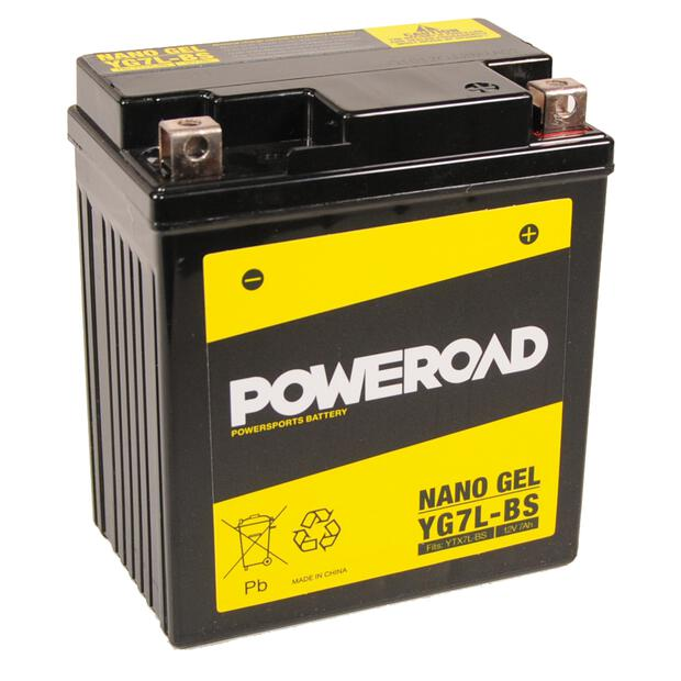 Battery YTX7L-BS / CTX7L-BS / WP7L-B for Vespa Sprint 50...