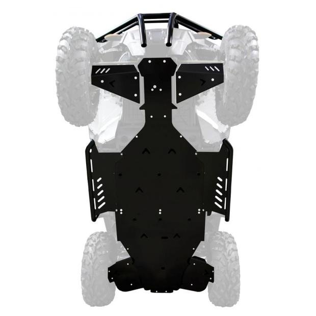 Frame guard skid plate Polaris ACE 570 SP