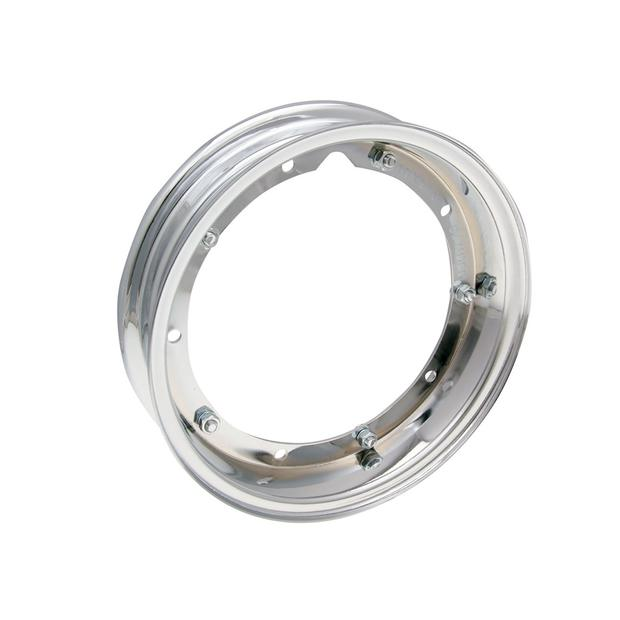 Rim 2:10 x 10  chrome Vespa 50- 125 PK PV 80-200 PX Rally