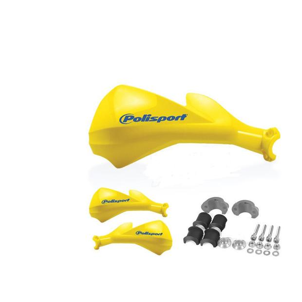 Hand protector Quad, Enduro, Moto Cross, ATV yellow model...