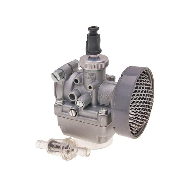 Carburetor tuning Puch Maxi moped 15mm
