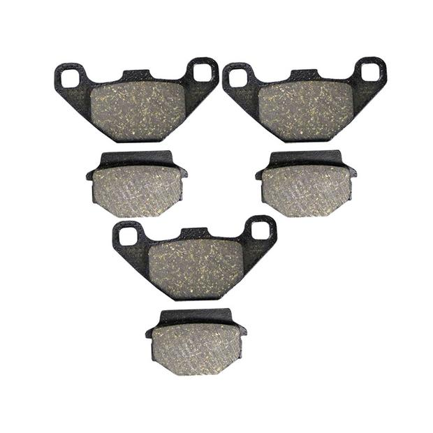 3x Brake pads SMC Canyon 500 RAM 520 503RR front and rear