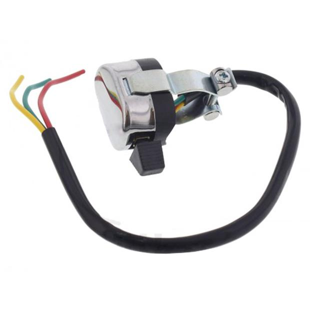 Handle-bar indicator switch assy moped retro