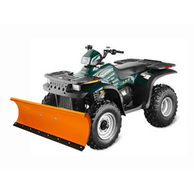 Schneeschild 132 Polaris Magnum 300/325/500 orange