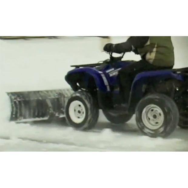 Schneeschild 132 Polaris Trail Boss 250/300/350/400 blau