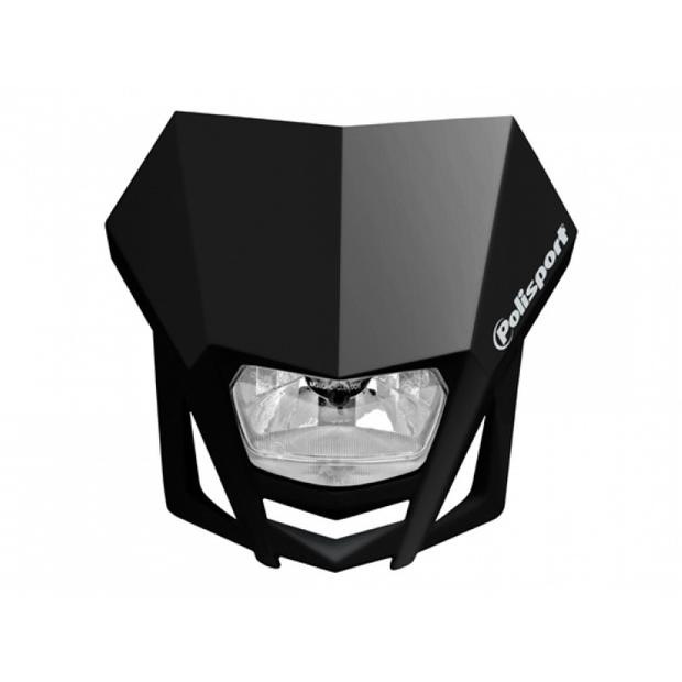 Headlight LMX black motorcycle
