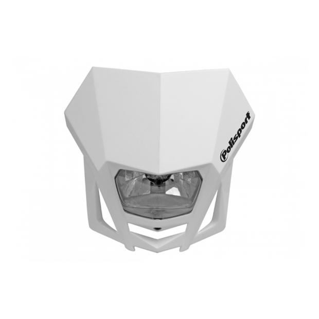 Headlight LMX white motorcycle