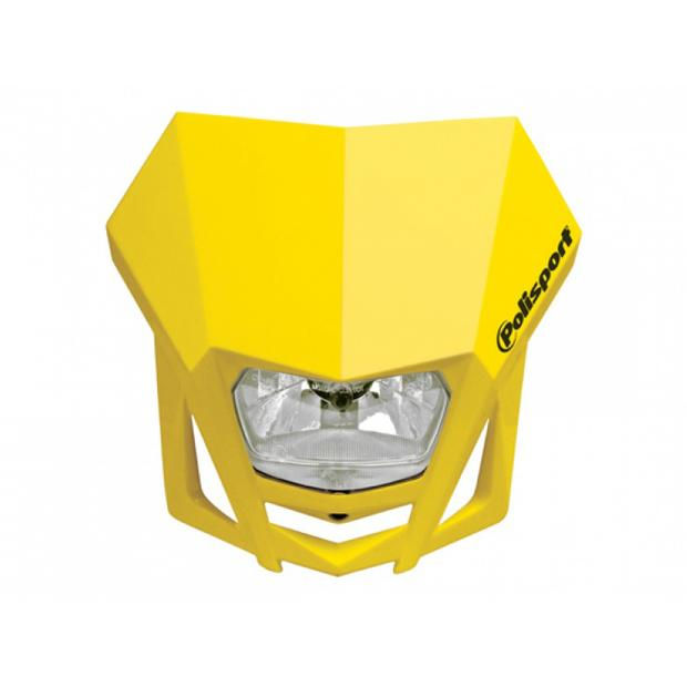 Headlight LMX yellow motorcycle
