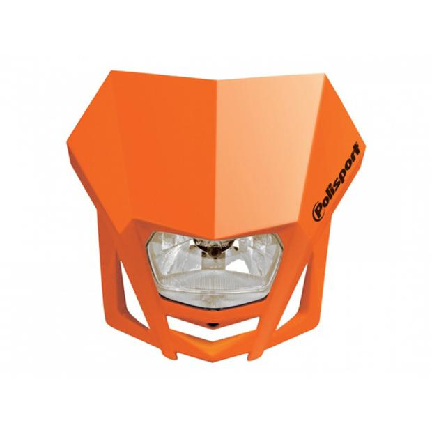 Scheinwerfer Maske LMX orange Enduro MX