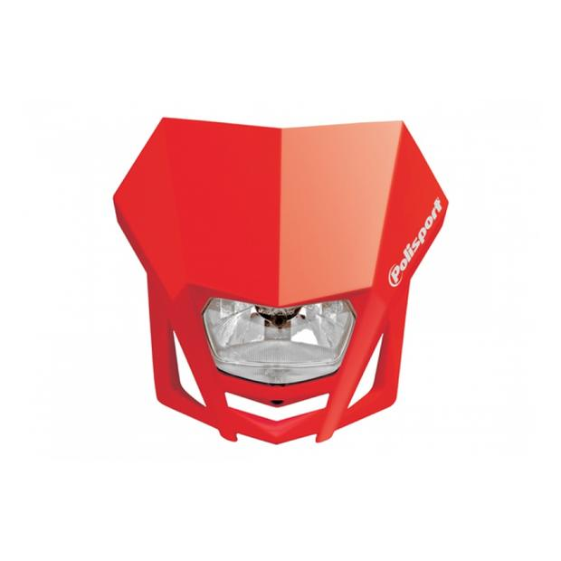 Headlight LMX red motorcycle